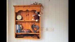 How To Make A Country Wall Shelf Unit - Pallet Furniture Wood Projects