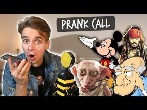 PRANK CALL IMPRESSIONS