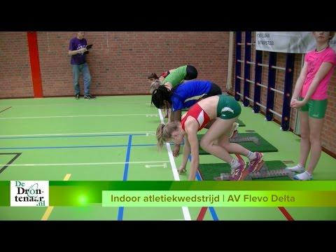 VIDEO | Ruim driehonderd atleten genieten van indoorwedstrijd Flevo Delta in 't Dok