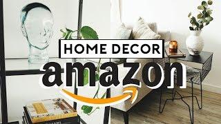 AMAZON HOME DECOR FAVORITES! (Affordable +Trendy) 2019   Nastazsa