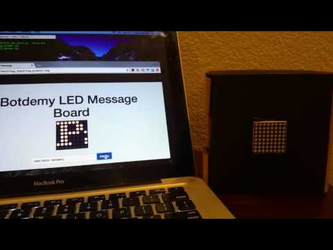 Use A Raspberry Pi To Display Text On A Scrolling Message Board