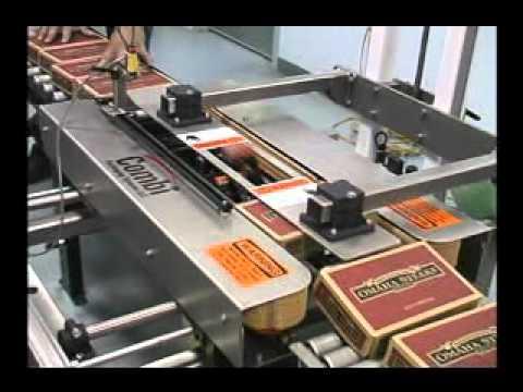 Selladora TBS con sellado tipo L al fondo L-Clip