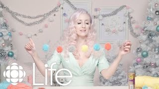 DIY: Whimsical Pom Pom Garland | ALB In Winterland | CBC Life