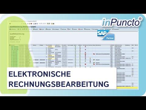 Elektronische Rechnungsbearbeitung in SAP