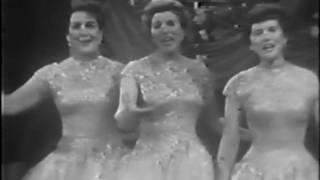 The Andrew Sisters Live - Pennsylvania Polka & Beer Barrel Polka