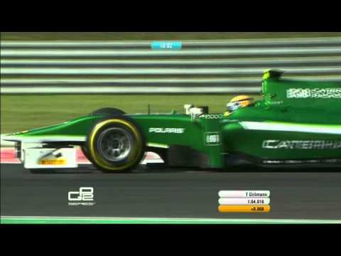 GP2 Series l Qualifying Lap l Hungaroring 2014 l Tom Dillmann