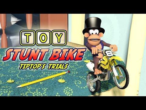 Toy Stunt Bike: Tiptop's Trials Trailer. Nintendo Switch. HD 60FPS. トイスタントバイク thumbnail