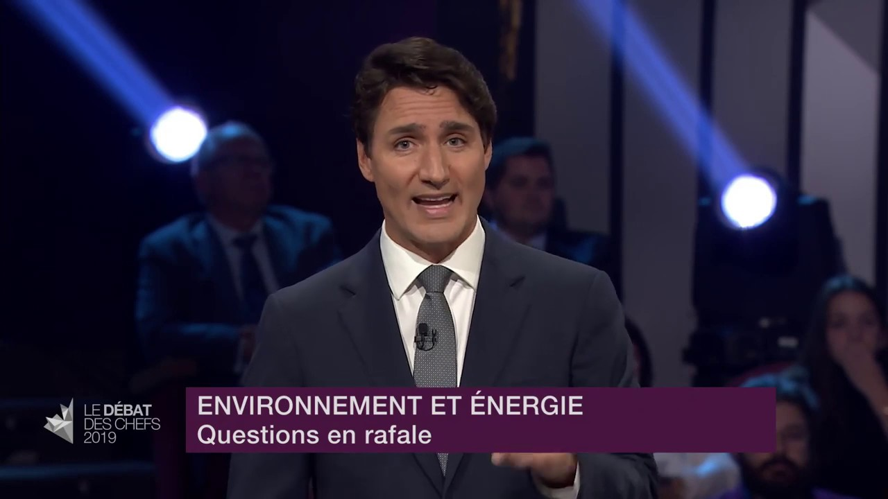 Justin Trudeau answers a question about oil patch subsidies