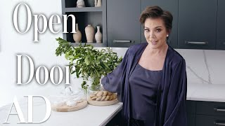 Inside Kris Jenners Hidden Hills Home  | Open Door | Architectural Digest
