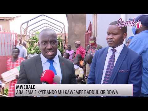 Ab'ettendekero lya UMI baddukiridde abalema b'e Kyebando