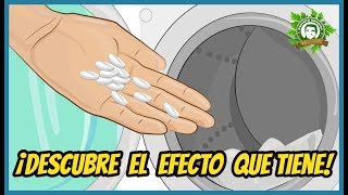Mete una Aspirina En Tu Lavadora, y ¡Descubre el Efecto Que Tiene!