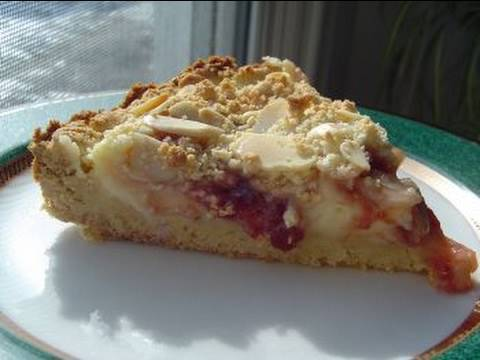 Video Recipes Using Cake Mixes: #6  Almond-Raspberry Coffee Cake
