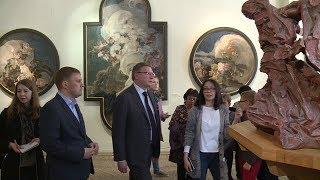 Александр Бурков в «Ночь музеев» поздравил с днем рождения старейший краеведческий музей в Сибири