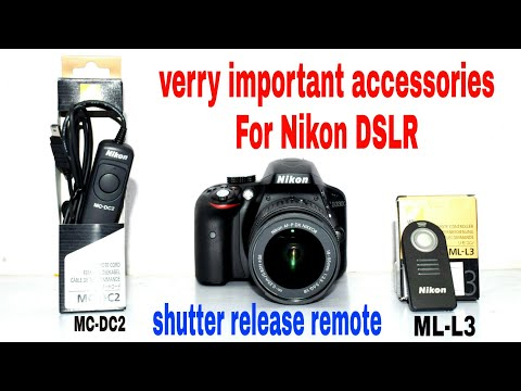 how to use remote with nikon DSLR ?what is the difference between ML-L3 vs MC-DC2 remote ?
