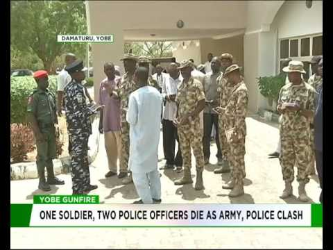One Soldier, two police officers die as army. police clash in Yobe