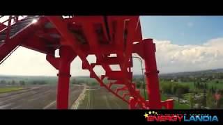 Mayan Achterbahn Onride - EnergyLandia Roller Coaster Mayan POV