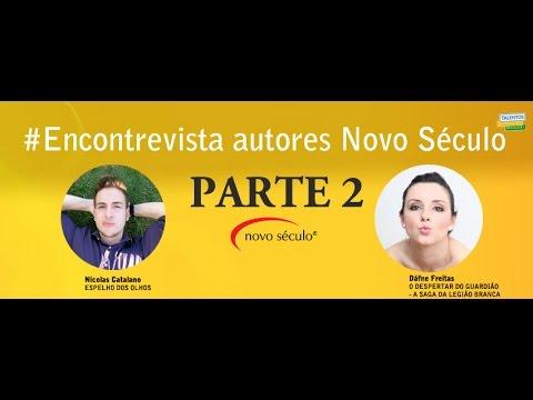#ENCONTREVISTA ? PARTE 2 ? Dáfne Freitas e Nicolas Catalano ? AUTORES