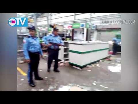 Saquean comercios en toda Managua