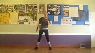 1970s Stayin Alive zumba routine by the Bee Gees