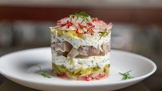 ВЕНЕРА В МЕХАХ недорогой салат на праздничный стол / Новогодний стол