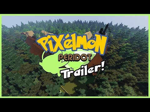 Pixelmon: Peridot Version (Generations Edition) - Custom Map for the
