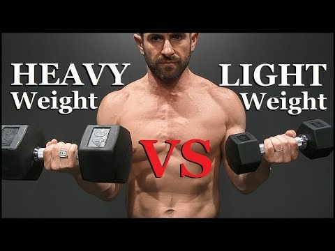 Light Weight vs Heavy Weight (Which BUILDS Muscle Better?)