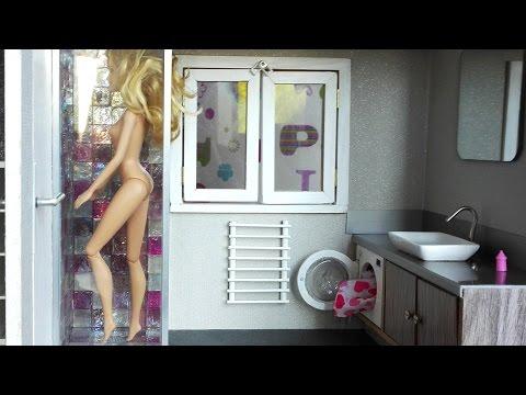 Fabriquer Une Salle De Bain Pour Maison De Poupe Barbie