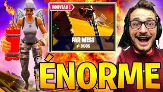 *NEW* LA DYNAMITE en mode FAR WEST sur FORTNITE BATTLE ROYALE !