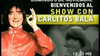 preview picture of video 'Publicidad de EL SHOW DE CARLITOS BALA en CAÑADA DE GOMEZ - noviembre 2009'