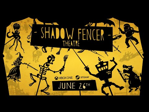 Shadow Fencer Theatre - Official Release Date Trailer - Out June 26th, 2019! thumbnail