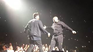 Weeknd Brings out Drake in Toronto HD (May 27, 2017)