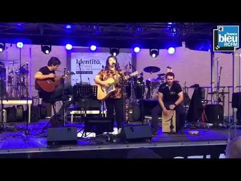 """Carlotta Rini en live pour """"Citadella in Festa"""" (15/08/18)"""