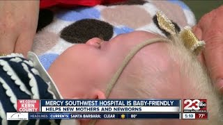 Mercy Southwest hospital earns baby friendly title