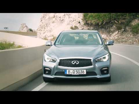 Infiniti Q50 driving scenes - Autogefühl Autoblog