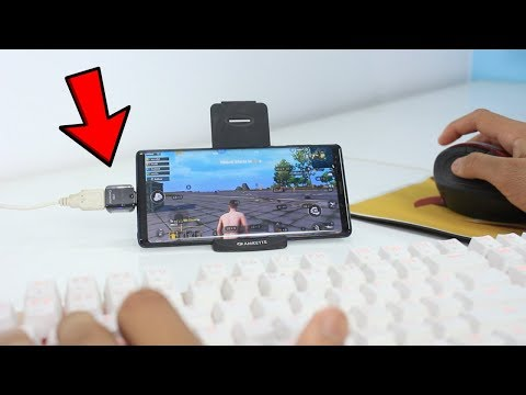 PUBG MOBILE (ENGLISH VERSION) - On PC plus Mouse and Keyboard
