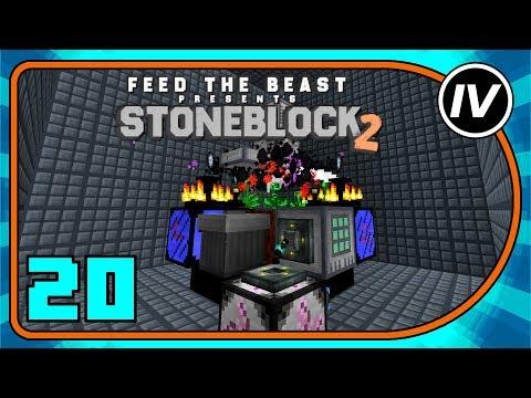 StoneBlock - Ep  21: NETHER STAR SEEDS! (Modded Minecraft