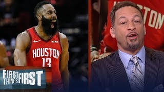 Chris Broussard reacts to Harden's big night, Rockets playoff chances   NBA   FIRST THINGS FIRST