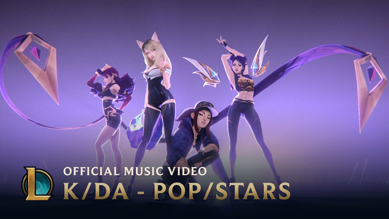 K/DA & Madison Beer & (G)I-DLE – Pop/Stars
