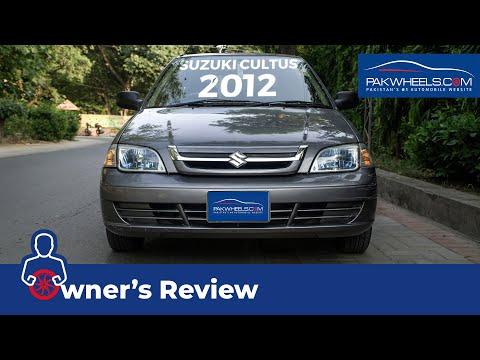 Suzuki Cultus Euro II 2012 Owner's Review: Price, Specs & Features | PakWheels