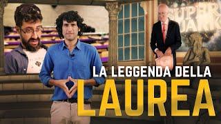 ALBERTO ANGELA E LA LEGGENDA DELLA LAUREA - feat EDOARDO FERRARIO   Le Coliche