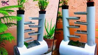 Make a Zen Fountain Aquarium using PVC pipe