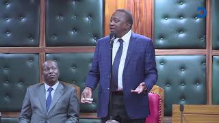 President Uhuru had to speak in Kikuyu to explain to governors that there is no extra money