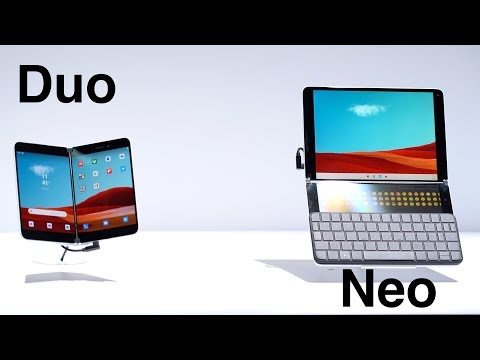 Microsoft Reveals Foldable Surface Neo & Surface Duo, Surface Pro X, and More!