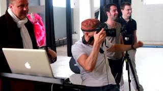 "Making of Shooting / ""Nouveau cabaret au Canon d'Or"" by Thomas Muselet"