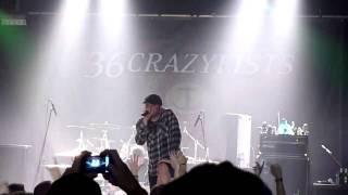 36 Crazyfists - Reviver / Live @ Essigfabrik Cologne 24.11.2010