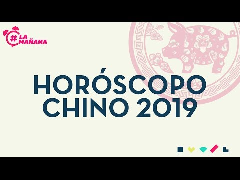 Horóscopo Chino 2019: Conoce cómo será tu año del cerdo - La Mañana