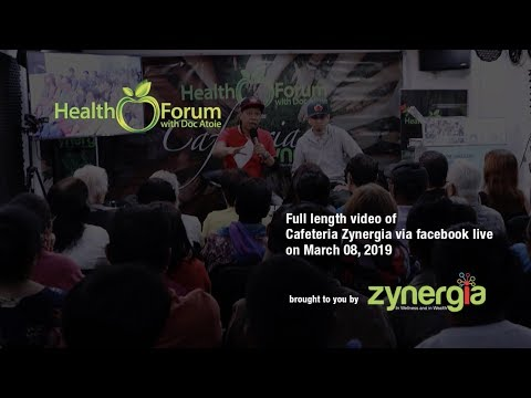8 March 2019 | Cafeteria Zynergia via Facebook Live