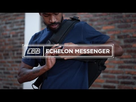 Echelon Messenger Bag | by Life Behind Bars