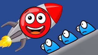 Новый КРАСНЫЙ ШАР #3. 11-12 УРОВНИ. Мультик ИГРА New Red Ball 2