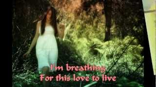 BREATHING~~ANGGUN C SASMI~~WITH LYRIC~~2012